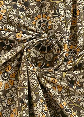 Sage Green Kalamkari Fabric