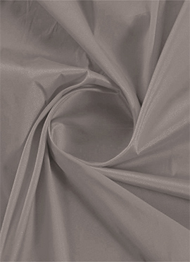 Satellite Grey Taffeta Fabric