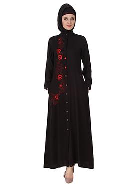 Shaistah Rayon Black Abaya