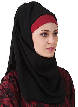 Shajarah Black Nida Dubai Hijab