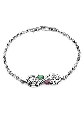 Silver Chain Rakhi For Men