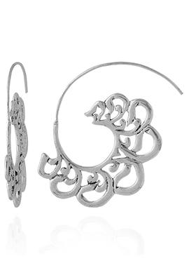 Silver Dangler Earring
