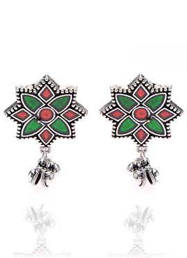Silver Drops Earrings
