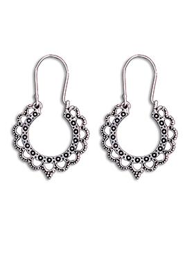 Silver Hoops Earring