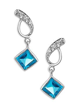 Silver N Blue Drops