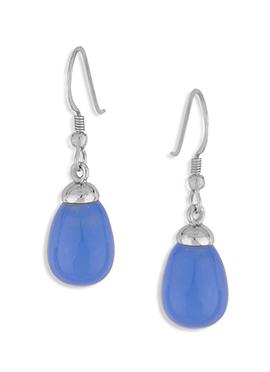 Silver N Light Blue Colored Hooks