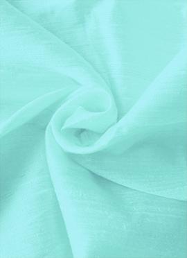 Sky Blue Art Dupion Silk Fabric