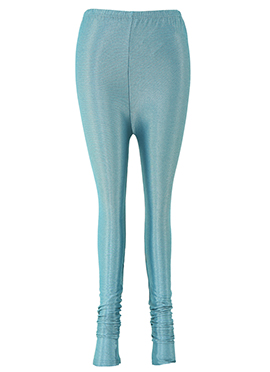 Teal Blue Lycra Leggings