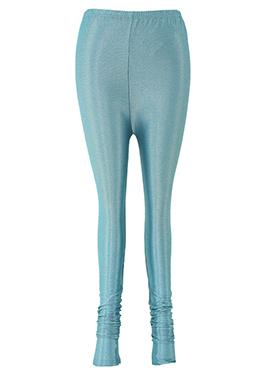 Teal Blue Lycra Leggings