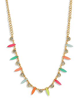Stone Studded Multicolored Tiara