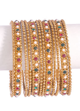 Stones Multicolored Bangles