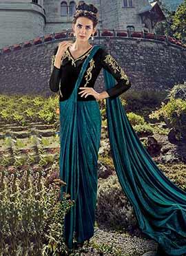 91c2f9c7411 Buy Saree Gown Indo Western Dresses