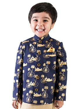 Tiber Taber Regal Blue N Gold Kids Bandhagala Jack