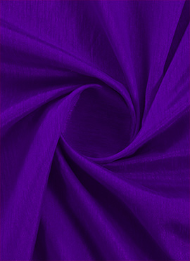 Tillandsia Purple Raw Silk Fabric