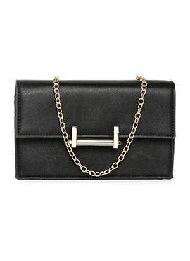 Toniq Black Sling Bag