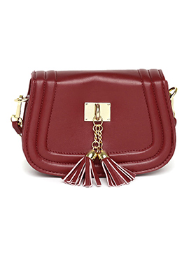 Toniq Maroon Sling Bag