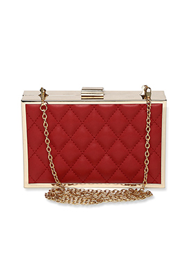 Toniq Red Box Clutch