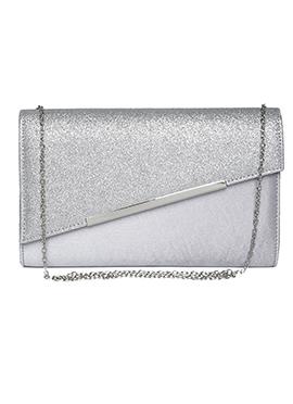 Toniq Silver clutch