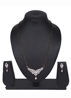 Traditsiya American Diamond Elegant Design Mangalsutra Set