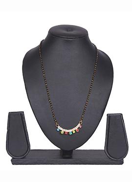 Traditsiya Multicolor American Diamond Mangalsutra