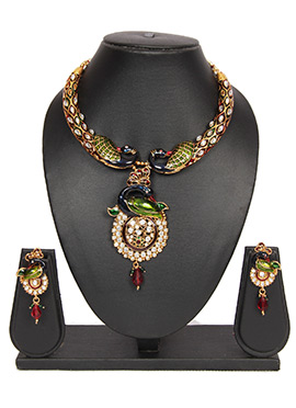 Traditsiya Multicolored Necklace Set