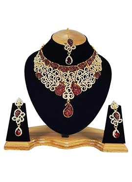Tricolor Necklace Set