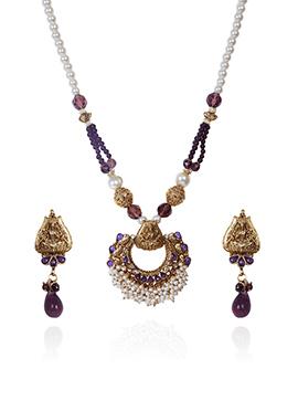 Tricolor Necklace Set