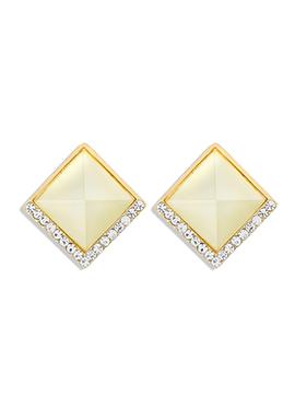 Tricolor Stud Earrings