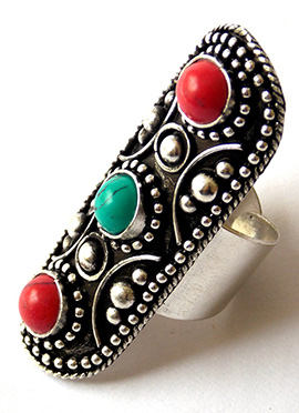 Tricolor Stylish Ring