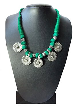 Turquoise N Silver Necklace
