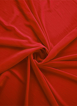 Valiant Poppy Georgette Fabric