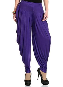 Violet Rayon Dhoti Pant
