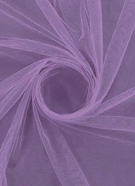 Violet Tulip Net Fabric