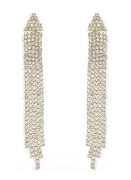 White American Diamond Chandelier