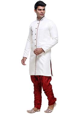White Breeches Sherwani