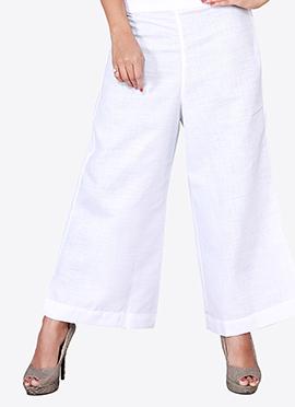 White Cotton Culottes