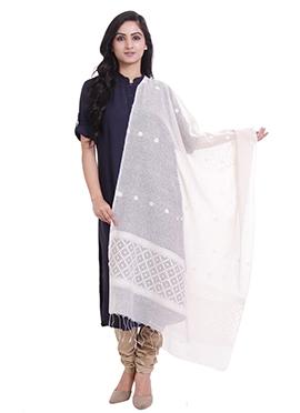 White Cotton Dupatta