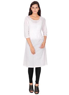 White Cotton Kurti