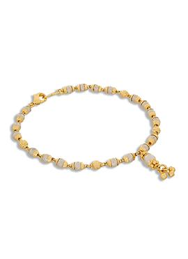 White N Gold Color Bracelets