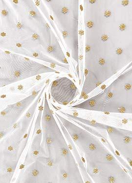 White Net Dupatta