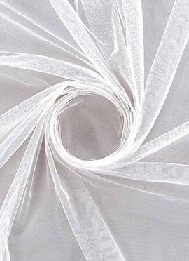 White Net Fabric