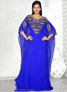 Wonderful Blue Farasha Fustan