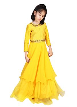 Yellow Chiquitita Kids Gown
