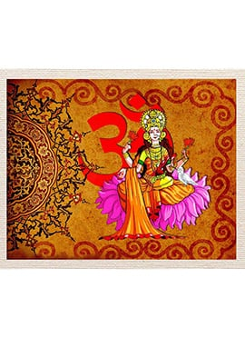 Yellow Lotus Lady Canvas