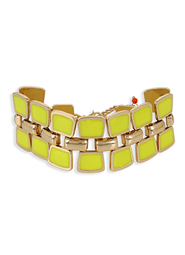 Yellow N Golden Color Bracelet