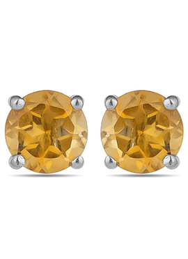 Yellow N Silver Studs