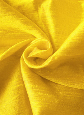 Yellow Taffeta Plain Fabric