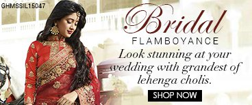Lavishing Bridal Lehengas
