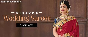 Laudable Wedding Sarees