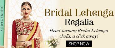 Bridal Lehenga Regalia